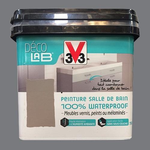 V33 Déco LAB Peinture Salle de bain 100% Waterproof Roche