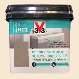 V33 Déco LAB Peinture Salle de bain 100% Waterproof Ivoire