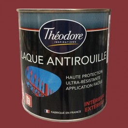 Théodore Laque Antirouille Rouge chinois
