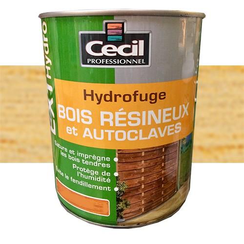 Cecil Ext Hydro Hydrofuge Bois Resineux Et Autoclaves Incolore Pas