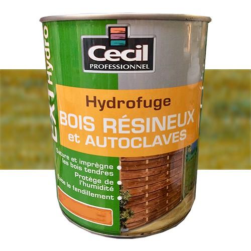 Cecil Ext Hydro Hydrofuge Bois Resineux Et Autoclaves Vert Autoclave