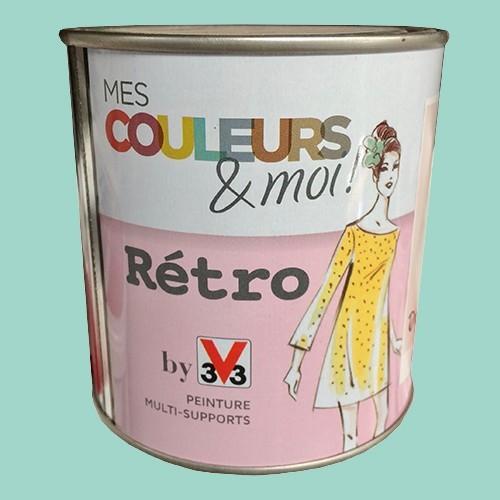 v33 mes couleurs et moi retro menthe douce satin velout pas cher en ligne. Black Bedroom Furniture Sets. Home Design Ideas