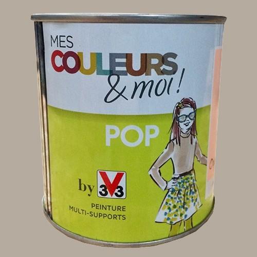 V33 Mes Couleurs Et Moi Pop Beige Etoffe Satin Veloute Pas Cher En Ligne