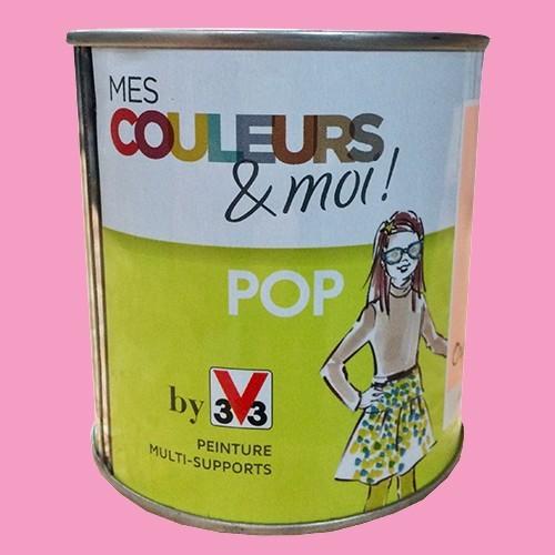 V33 Mes couleurs et moi POP Rose fluo Satin velouté