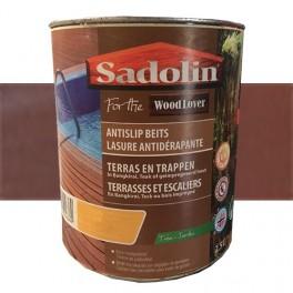 SADOLIN WOODLOVER Lasure antidérapante Teck