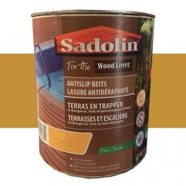 SADOLIN WOODLOVER Lasure antidérapante Naturel