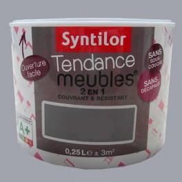 SYNTILOR Peinture Tendance Meubles Effet Soft Gris minéral