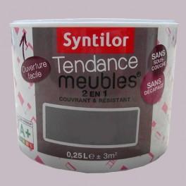 SYNTILOR Peinture Tendance Meubles Effet Soft Gris perle
