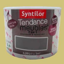 SYNTILOR Peinture Tendance Meubles Effet Soft Jaune de mars