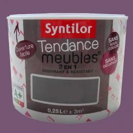 SYNTILOR Peinture Tendance Meubles Effet Soft Black purple