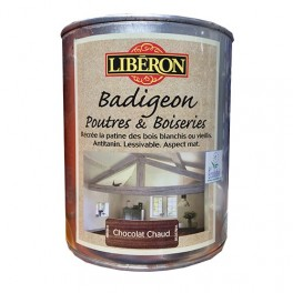 LIBÉRON Badigeon Poutres & Boiseries Chocolat chaud