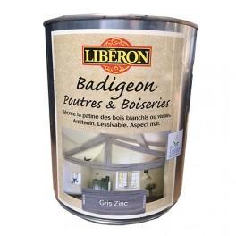 LIBÉRON Badigeon Poutres & Boiseries Gris zinc