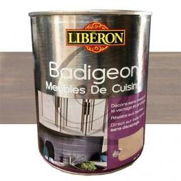 LIBÉRON Badigeon Meubles de cuisine 1L Poivre gris