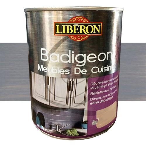 Lib ron badigeon meubles de cuisine 1l gris mousseron pas cher en ligne - Badigeon meuble liberon ...