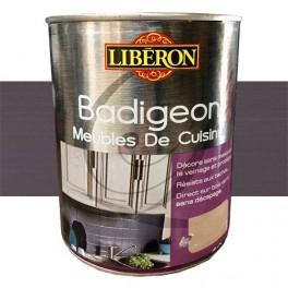 LIBÉRON Badigeon Meubles de cuisine 1L Aubergine