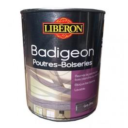 LIBÉRON Badigeon Poutres & Boiseries Gris zinc Mat