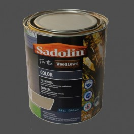 Lasure SADOLIN Wood Lover COLOR CHALETS Satinée Grison 2,5L