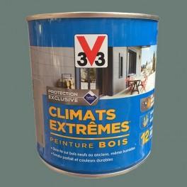 V33 Peinture Bois Climats Extrêmes Satin Garrigue