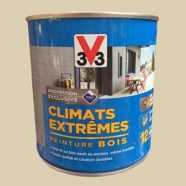 V33 Peinture Bois Climats Extrêmes Satin Sable
