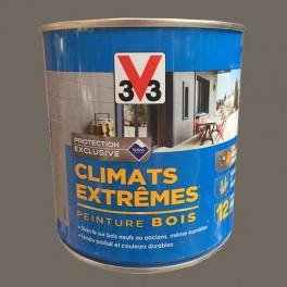 V33 Peinture Bois Climats Extrêmes Satin Taupe
