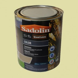 Lasure SADOLIN Wood Lover COLOR CHALETS Satinée Renne 2,5L