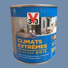 V33 Peinture Bois Climats Extrêmes Satin Bleu Provence
