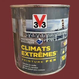V33 Peinture Fer Climats Extrêmes Brillant Rouge basque