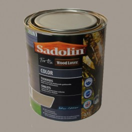 Lasure SADOLIN Wood Lover COLOR CHALETS Satinée Fjord 2,5L