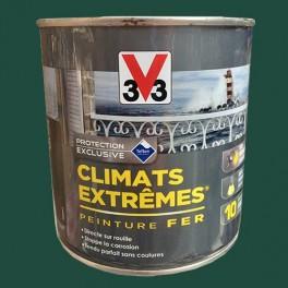 V33 Peinture Fer Climats Extrêmes Brillant Vert Basque