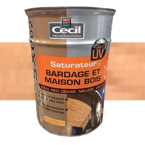 CECIL SX602 Saturateur Bardage et Maison Bois Douglas