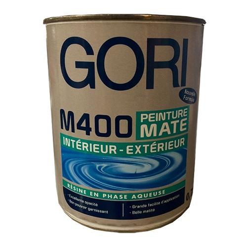 GORI M400 Peinture acrylique Blanc Mat