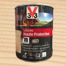 V33 Lasure Haute protection 8ans Ecoprotect Incolore