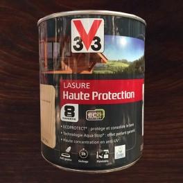 V33 Lasure Haute protection 8ans Ecoprotect Chêne foncé