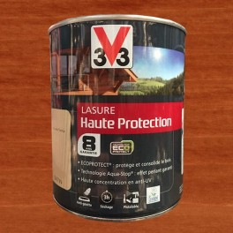 V33 Lasure Haute protection 8ans Ecoprotect Pin d'oregon