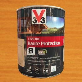 V33 Lasure Haute protection 8ans Ecoprotect Chêne clair
