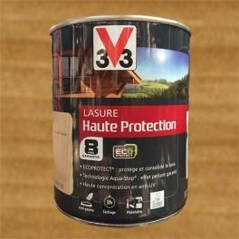 V33 Lasure Haute protection 8ans Ecoprotect Chêne contemporain