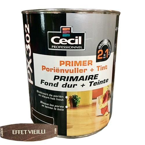 CECIL PX302 Primaire Fond dur + Teinte Effet Vieilli