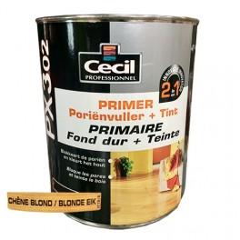 CECIL PX302 Primaire Fond dur + Teinte Chêne blond