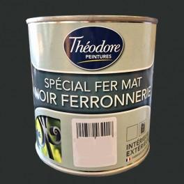 Théodore Peinture Spécial Fer Mat Noir ferronnerie