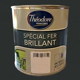 Théodore Peinture Spécial Fer Brillant Noir