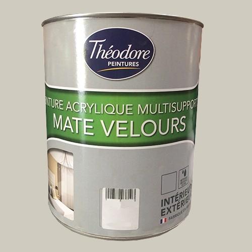 Théodore Peintures Acrylique Multisupports Mate Velours Argile