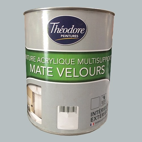 Théodore Peintures Acrylique Multisupports Mate Velours Gravier