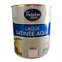 Théodore Laque Satinée Aqua Blanc