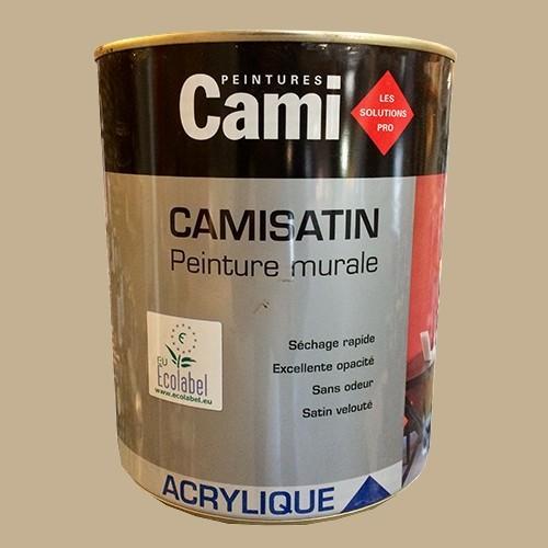 Cami Peinture Acrylique Camisatin Marron Glace De La Marque Cami