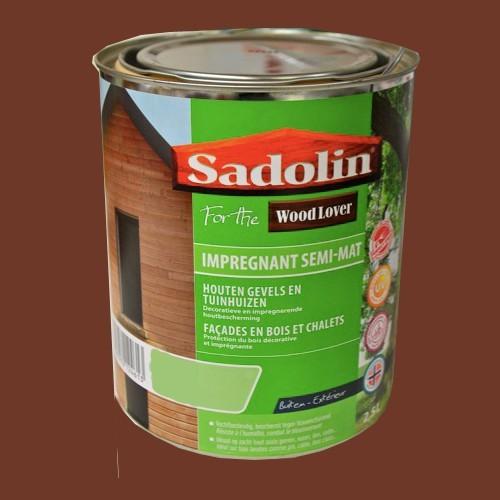 lasure sadolin woodlover impregnant semi mat rouge m ranti pas cher en ligne. Black Bedroom Furniture Sets. Home Design Ideas