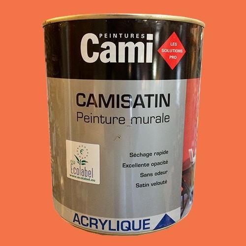 CAMI Peinture Acrylique CAMISATIN Orange mexico