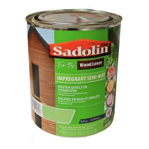 Lasure sadolin woodlover impregnant semi mat incolore for Peinture en ligne