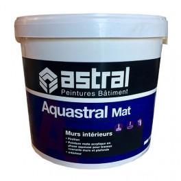 ASTRAL Peintures Bâtiment Aquastral Mat 15L