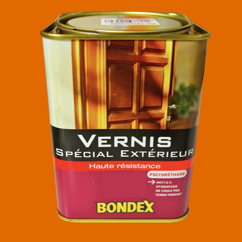 Bondex Vernis Spcial Extrieur Haute Rsistance Chne Dor Brillant