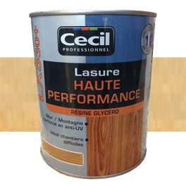 CECIL LX530+ Lasure Haute Performance Incolore